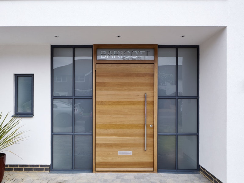 Raw front door | European Oak | Urban Front