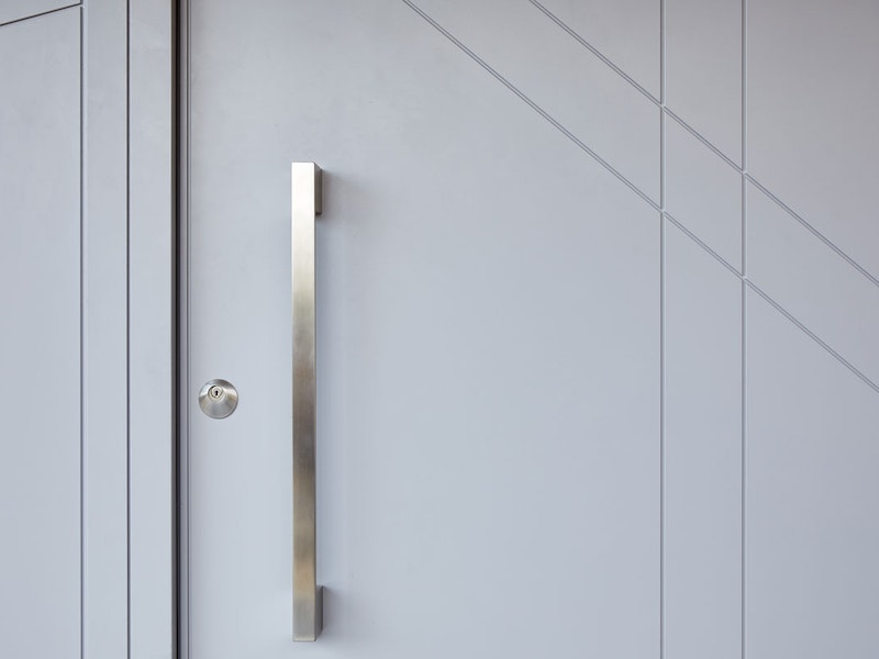 Grey painted | Handle option 10 | Root front door by Urban Front