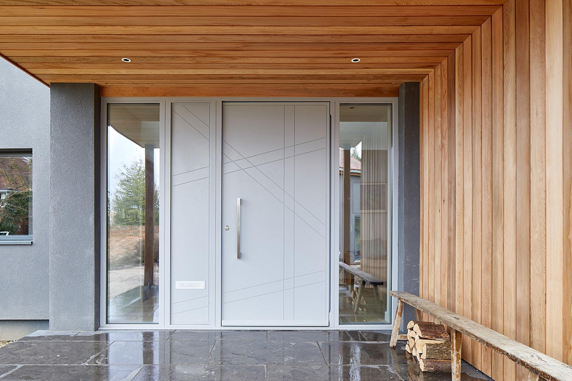 Grey painted | Exterior | Root front door by Urban Front