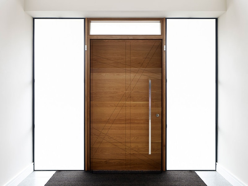 Natural hardwood | Root front door by Urban Front