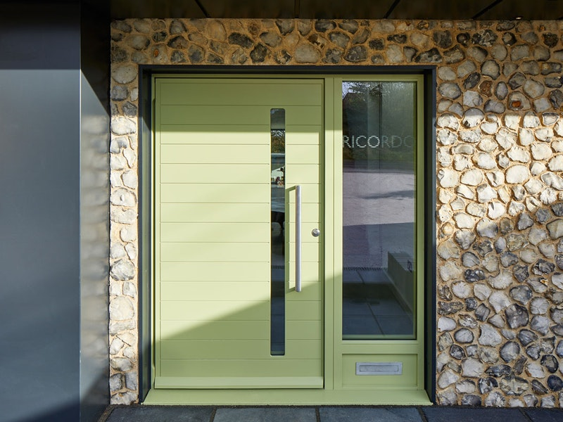 Terano front door | Green painted | Urban Front