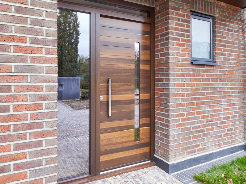 Terano 'Bespoke' front door | Fumed oak | Urban Front