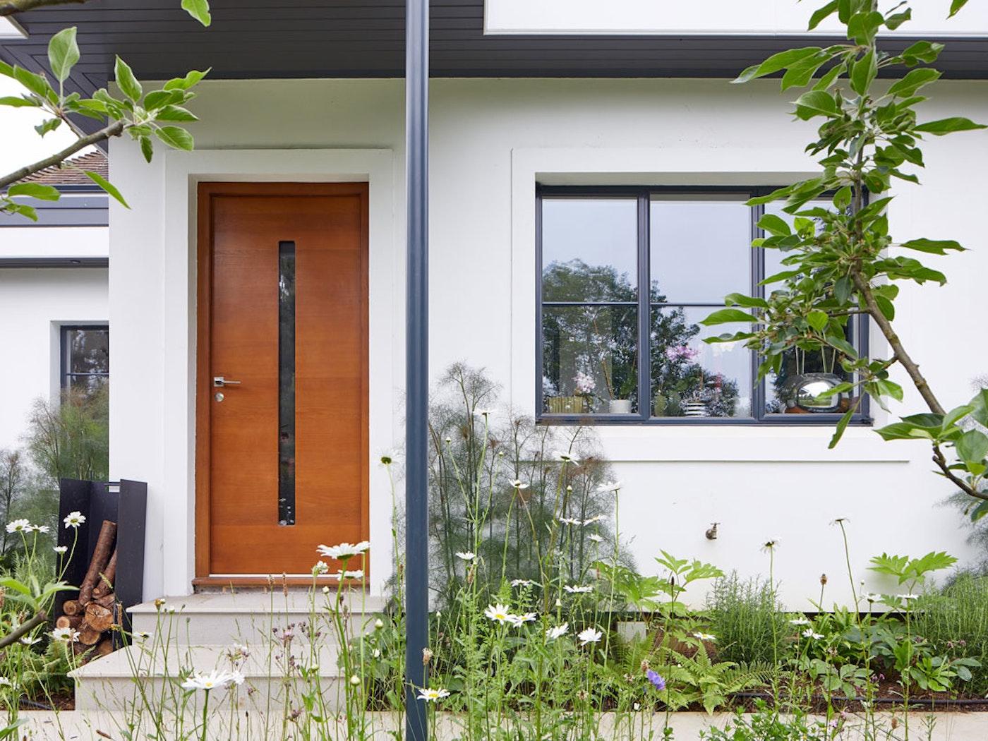 Terano front door | Horizontal grooves | Option 2 handle Urban Front
