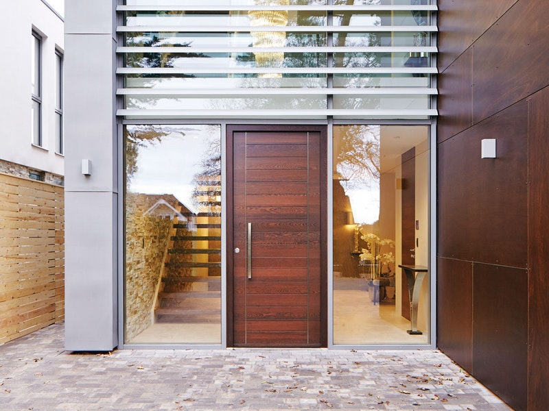 Oslo front door with option 10 handle