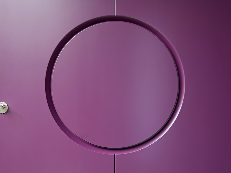 Your door can be finished in any painted RAL colour
