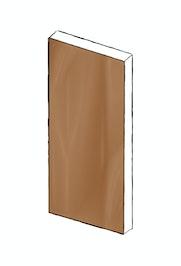 bronze front door design