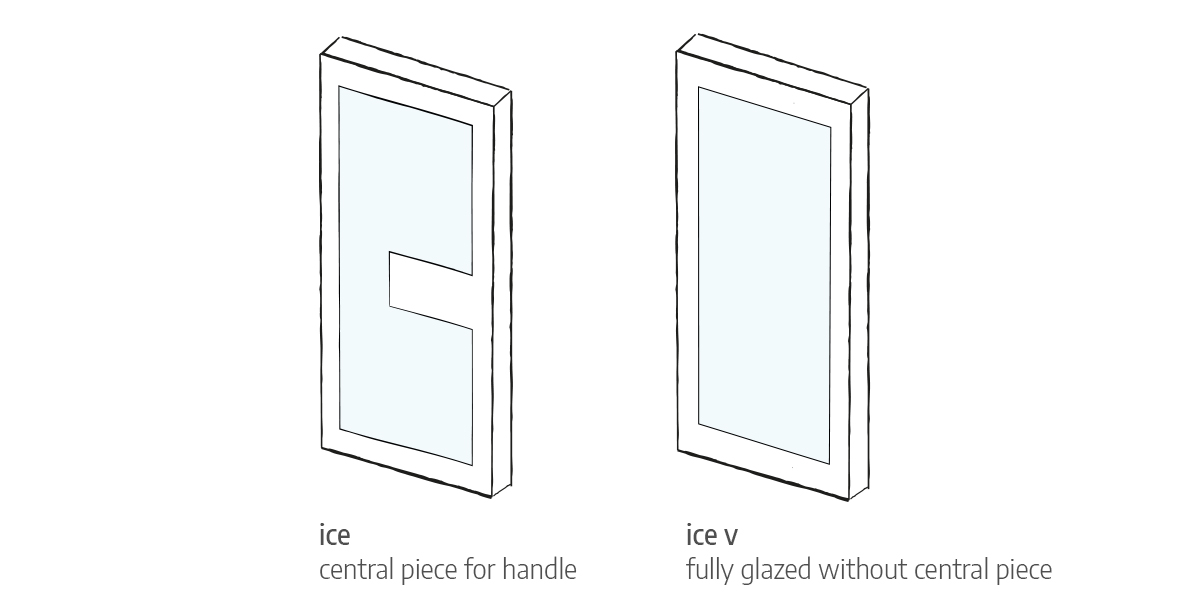 ice front door options Urban Front