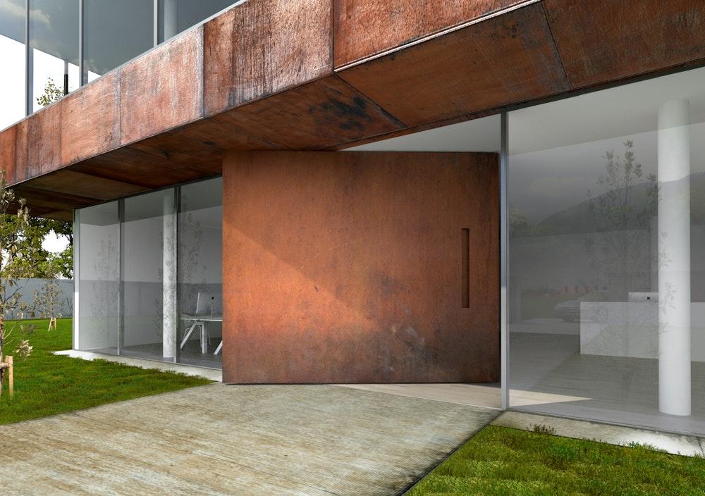 steel front doors Urban Front