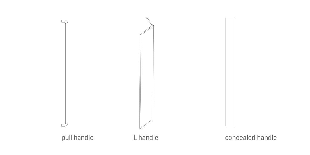 steel door handle options