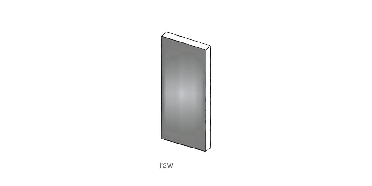 raw steel front door Urban Front