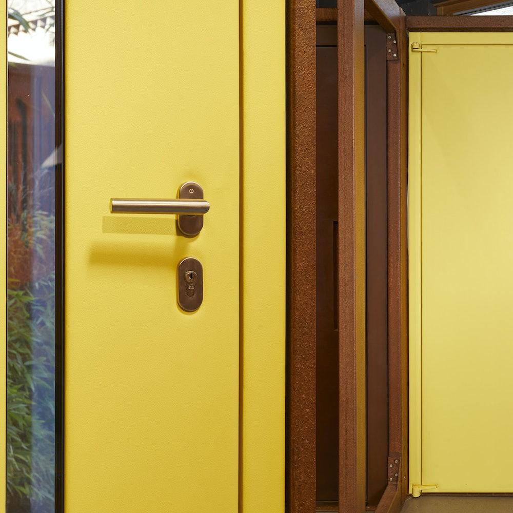 yellow leather interior steel urbanfront
