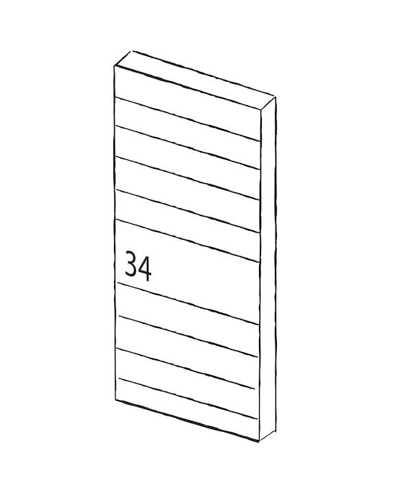 Contemporary front doors - Numero | Urban Front