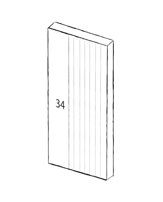 Contemporary front doors - Numero V | Urban Front