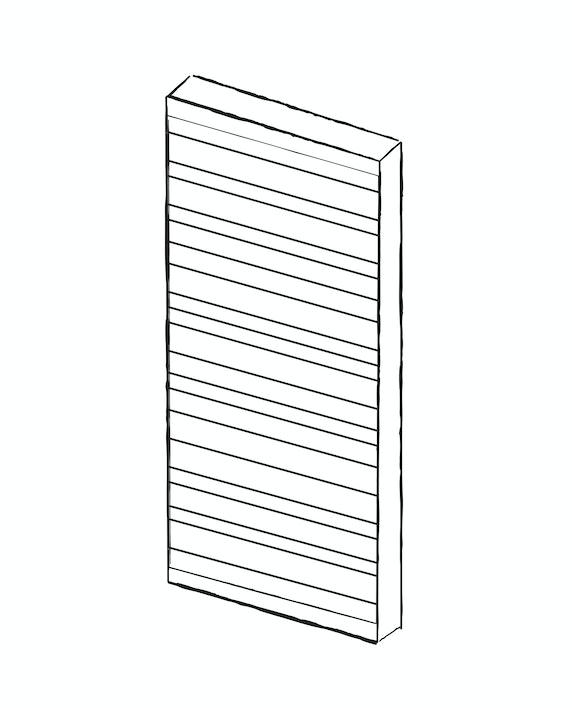 Contemporary internal doors - Rondo | Urban Front