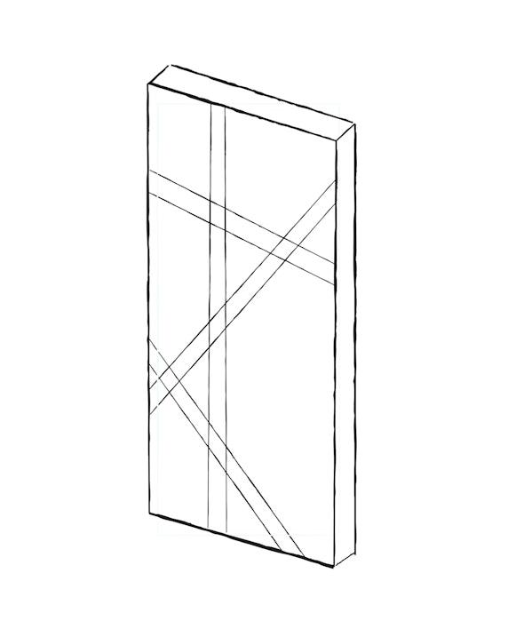 Contemporary internal doors - Root | Urban Front