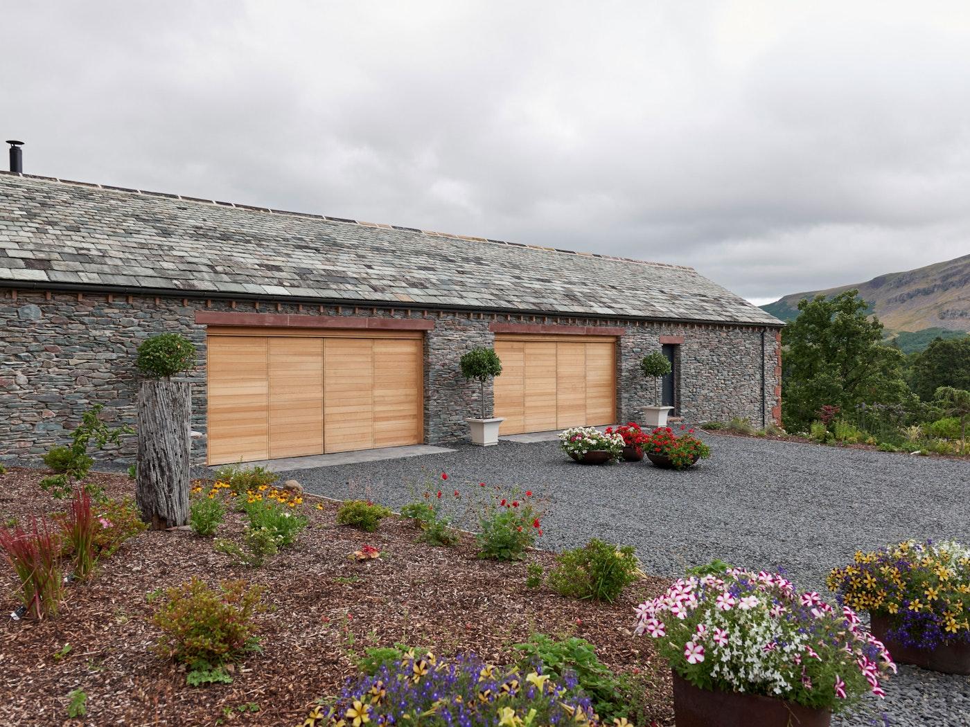 Different front doors garages 5