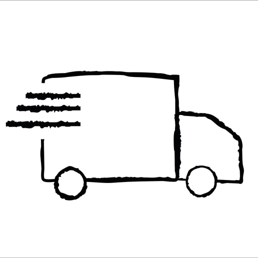 delivery and installation icon