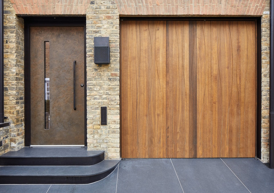 different front doors and garages 11