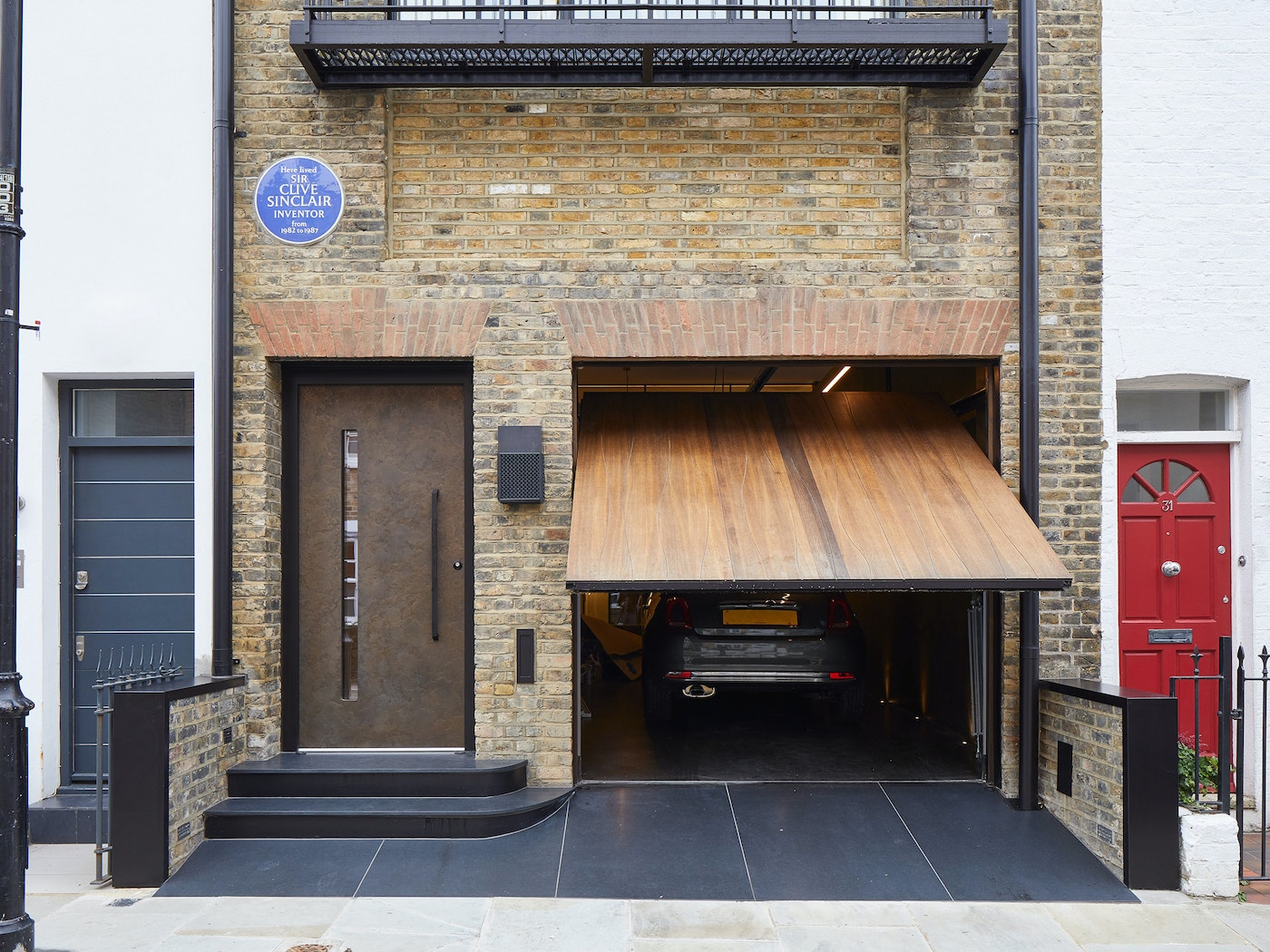 different front doors and garages 8