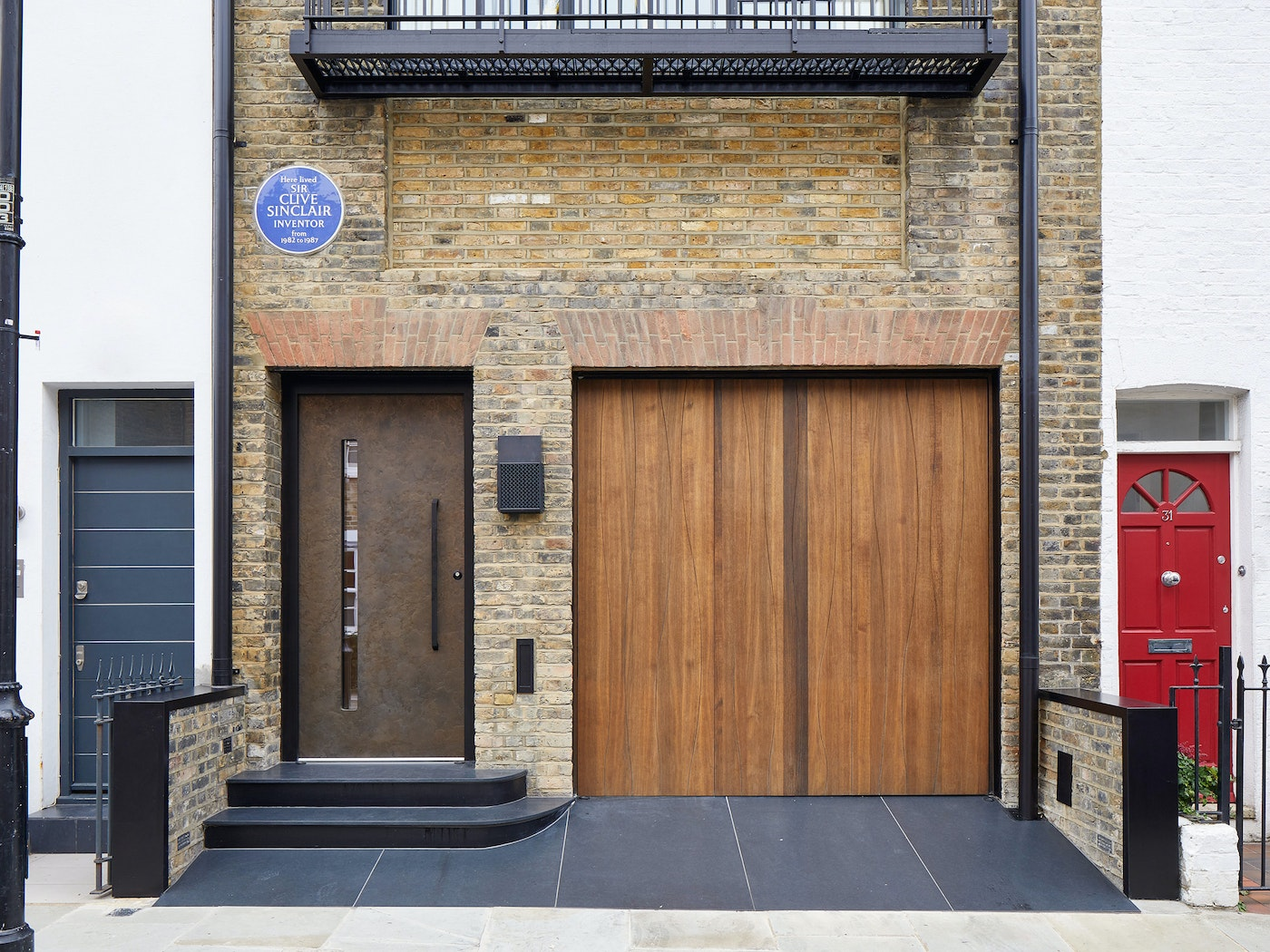 different front doors and garages 9