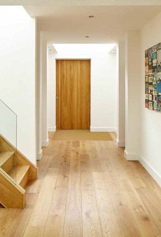 Wooden front doors - Natural hardwood front doors | Urban Front