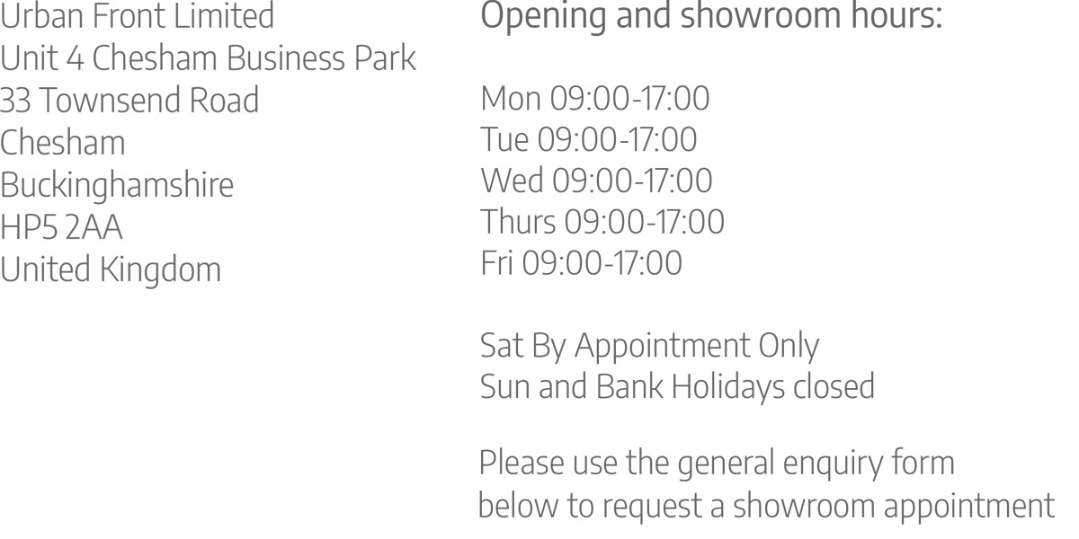 address opening and showroom times v2