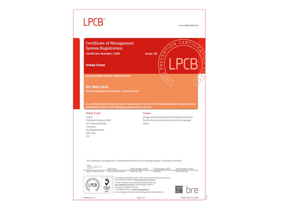 ISO certification thumbnail