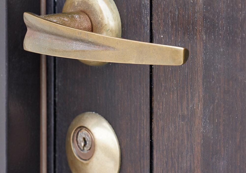 bronze lever door handles Urban Front 11