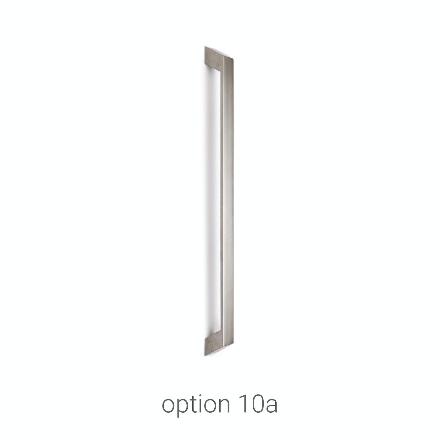 handles stainless steel door Urban Front option 10a