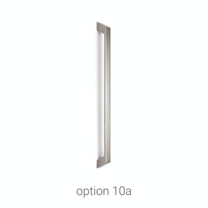 handles stainless steel door Urban Front option 10a