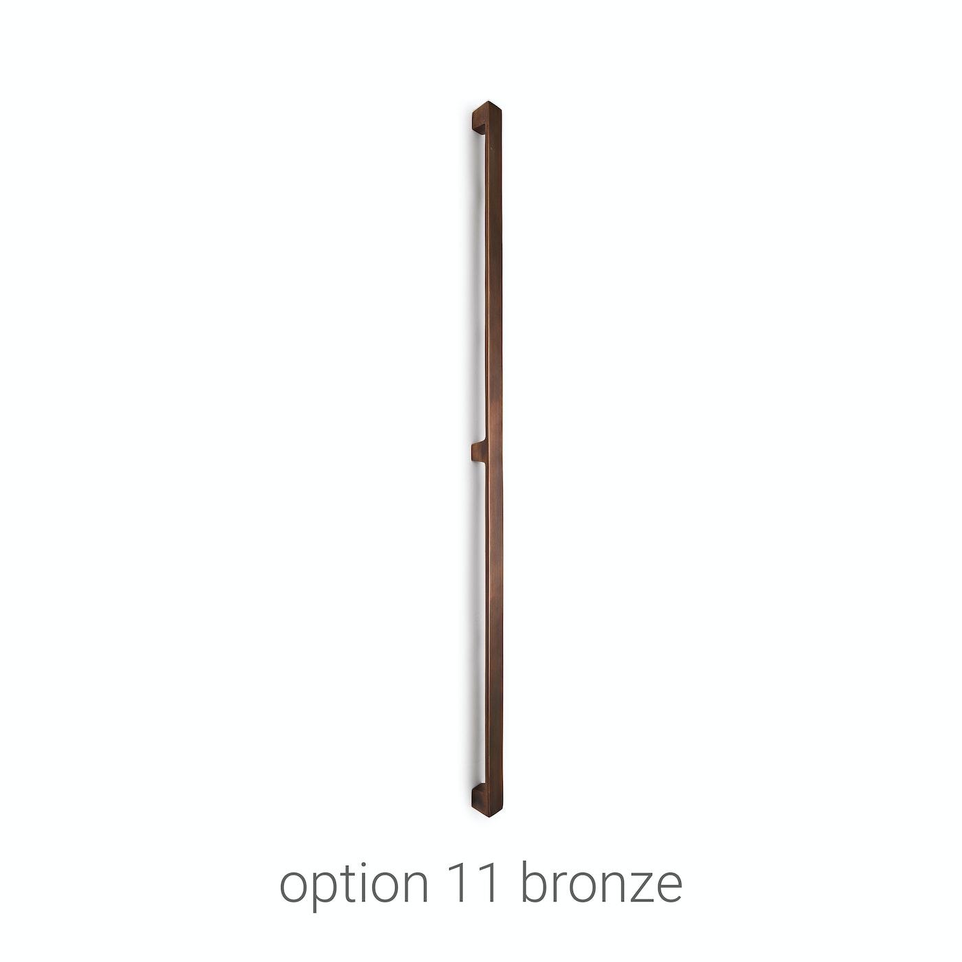 handles stainless steel door Urban Front option 11 bronze