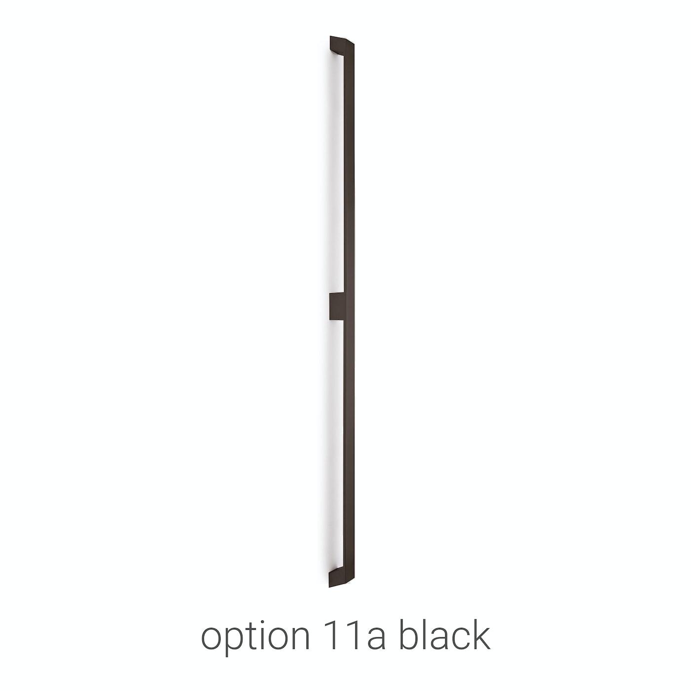 handles stainless steel door Urban Front option 11a black