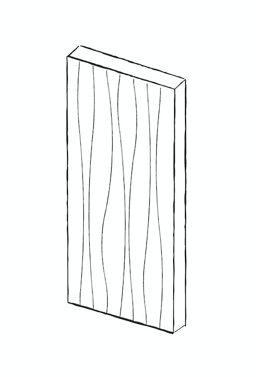 Contemporary front doors - wav i | Urban Front